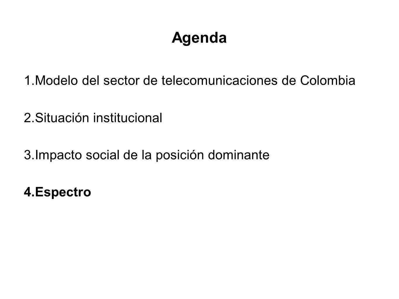 Agenda Modelo del sector de telecomunicaciones de Colombia