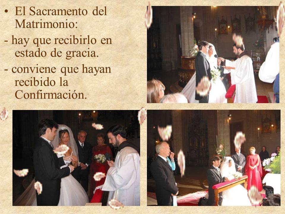 El Sacramento del Matrimonio: