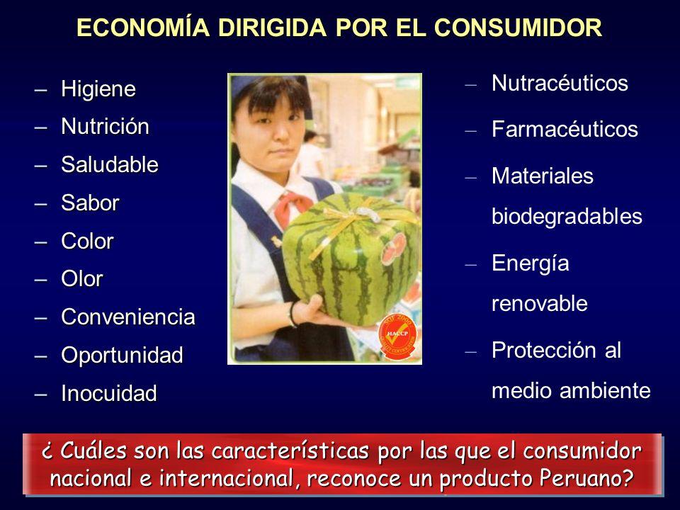 ECONOMÍA DIRIGIDA POR EL CONSUMIDOR