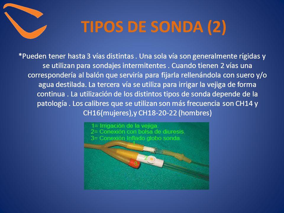 TIPOS DE SONDA (2)