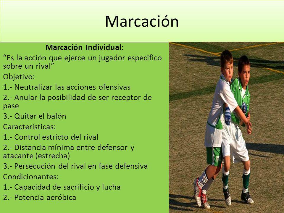 Marcación Individual:
