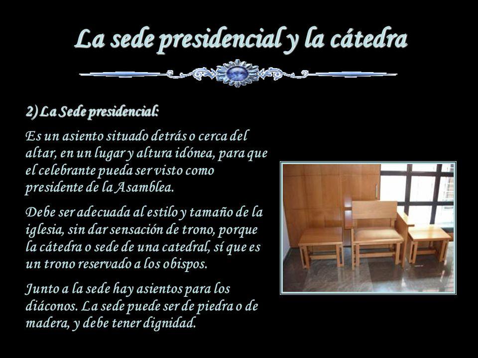 La sede presidencial y la cátedra