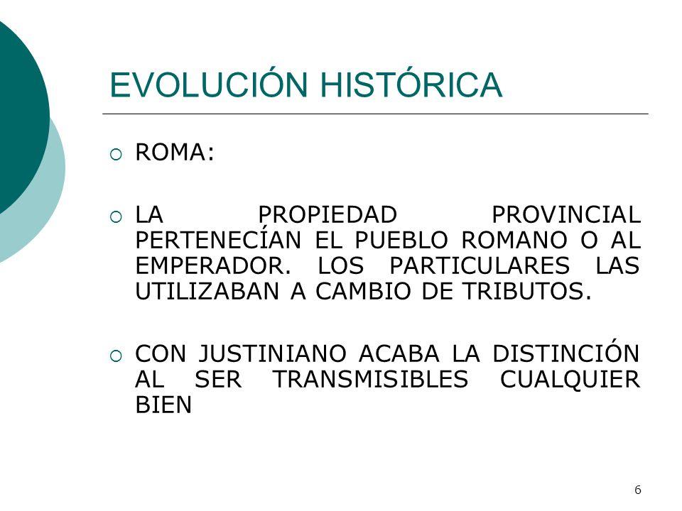 El Matrimonio Romano Evolucion Historica : Propiedad derechos reales profesor marco v alvarado