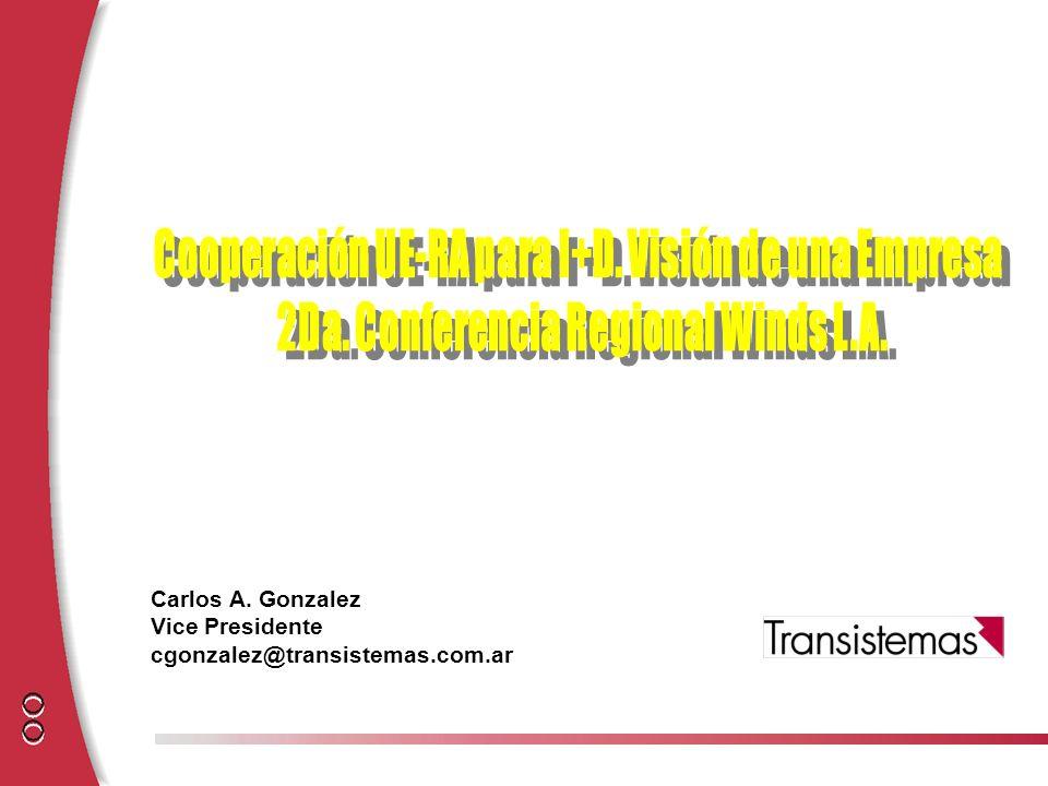 Cooperación UE-RA para I+D. Visión de una Empresa