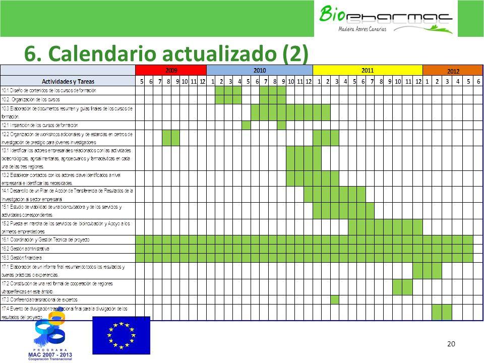 6. Calendario actualizado (2)