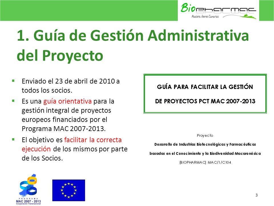 1. Guía de Gestión Administrativa del Proyecto