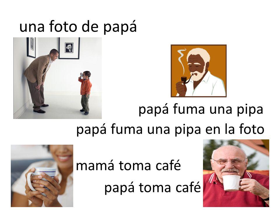 una foto de papá papá fuma una pipa papá fuma una pipa en la foto