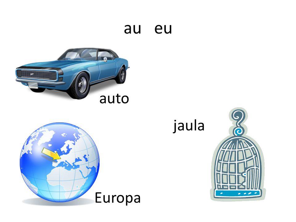 au eu auto jaula Europa