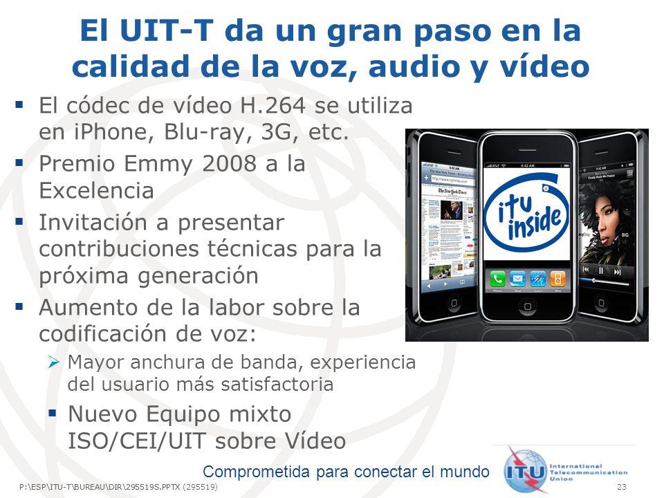 El UIT-T da un gran paso en la calidad de la voz, audio y vídeo