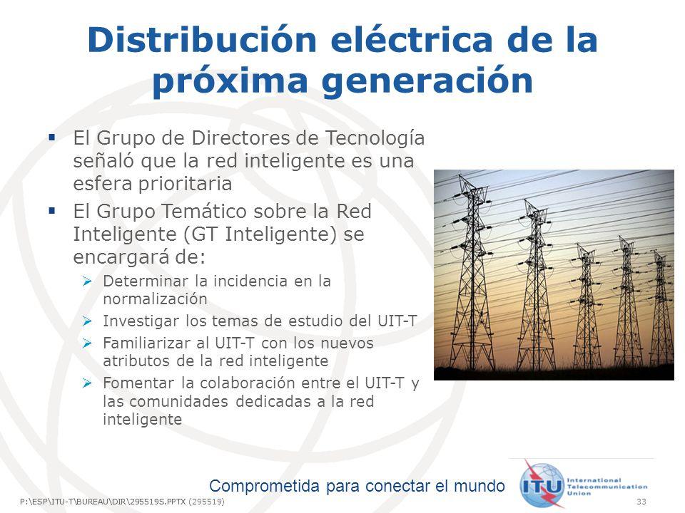 Distribución eléctrica de la próxima generación