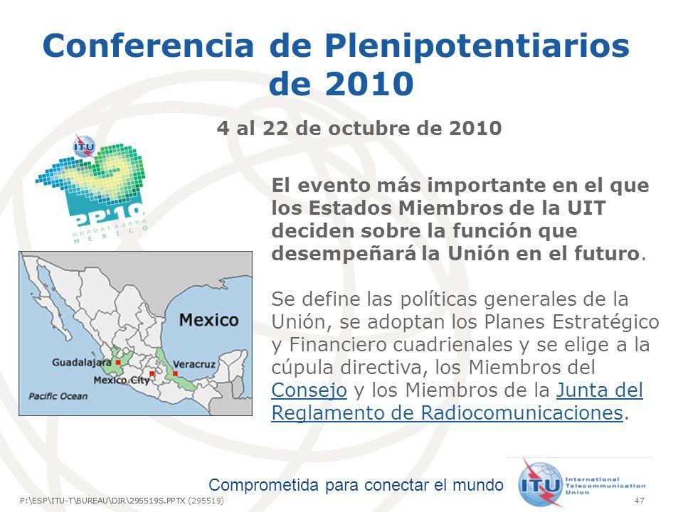 Conferencia de Plenipotentiarios de 2010