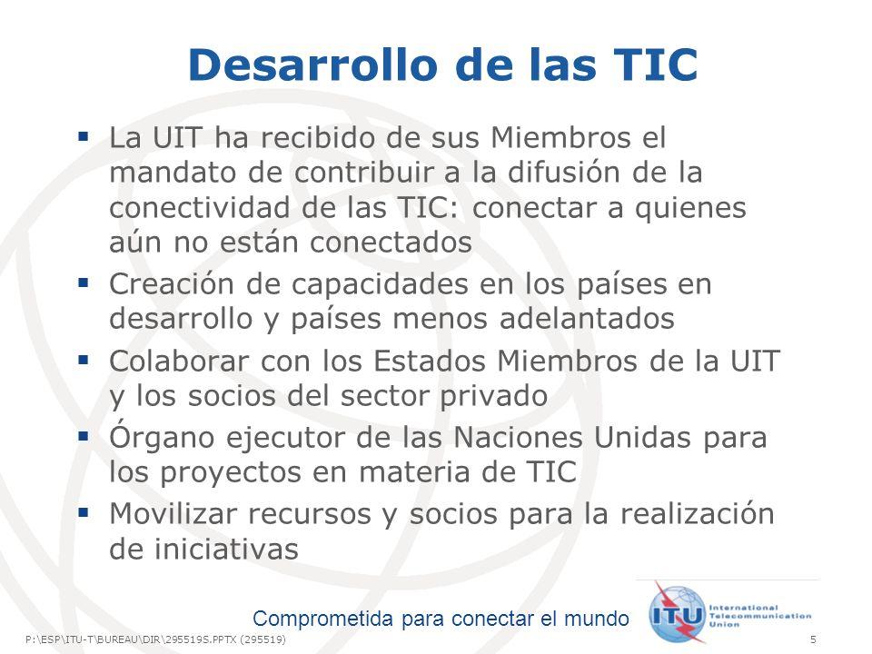 Desarrollo de las TIC