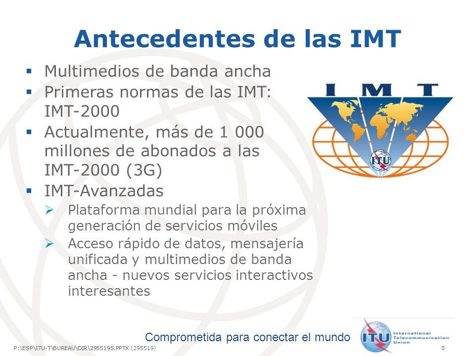Antecedentes de las IMT