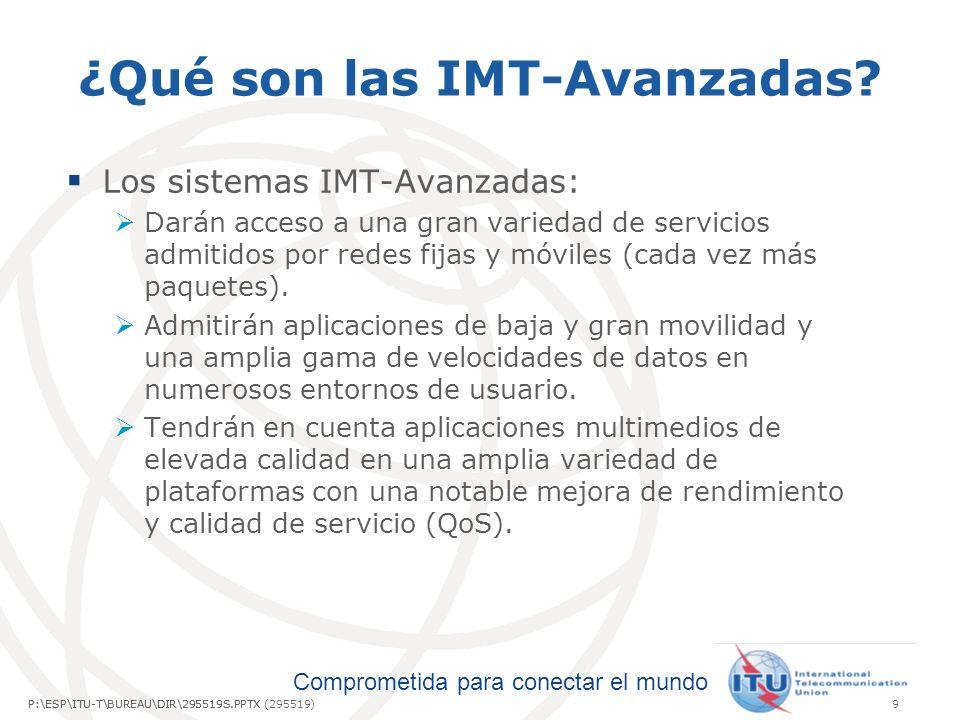 ¿Qué son las IMT-Avanzadas