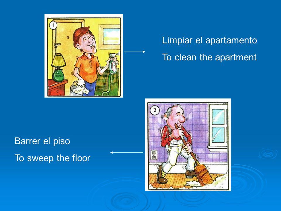 Limpiar el apartamento