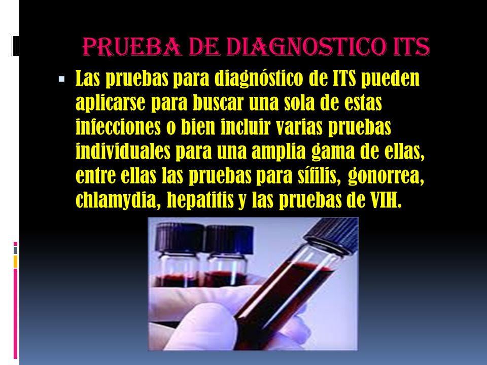 Prueba de diagnostico its