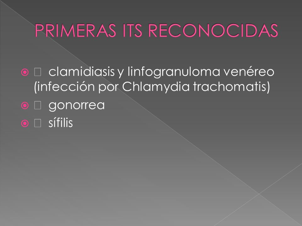 PRIMERAS ITS RECONOCIDAS
