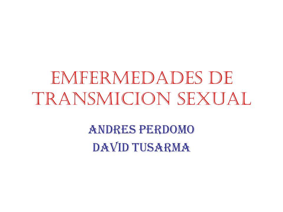 Emfermedades de transmicion sexual