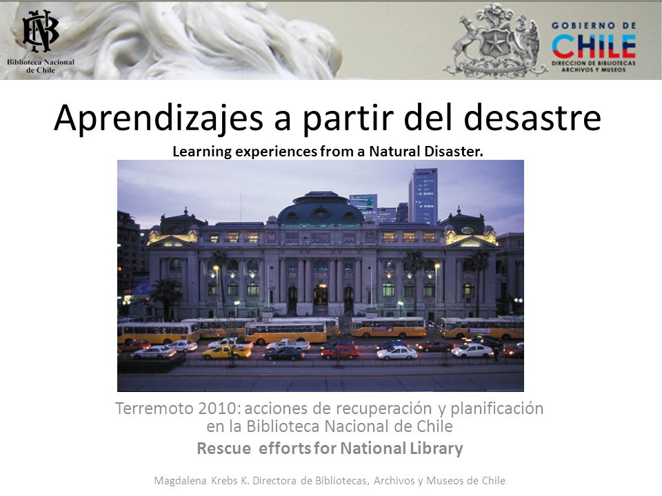 Rescue efforts for National Library