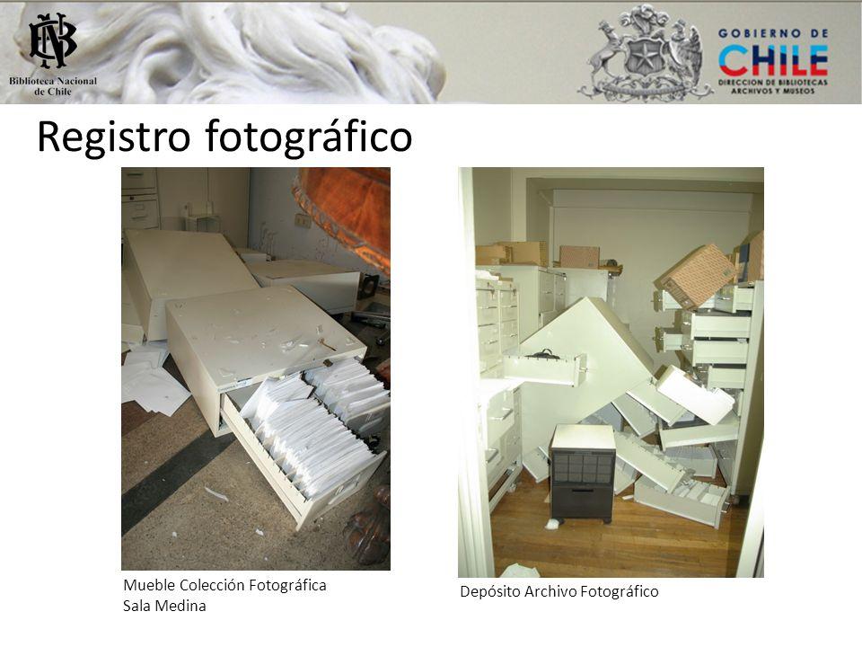 Registro fotográfico Mueble Colección Fotográfica Sala Medina