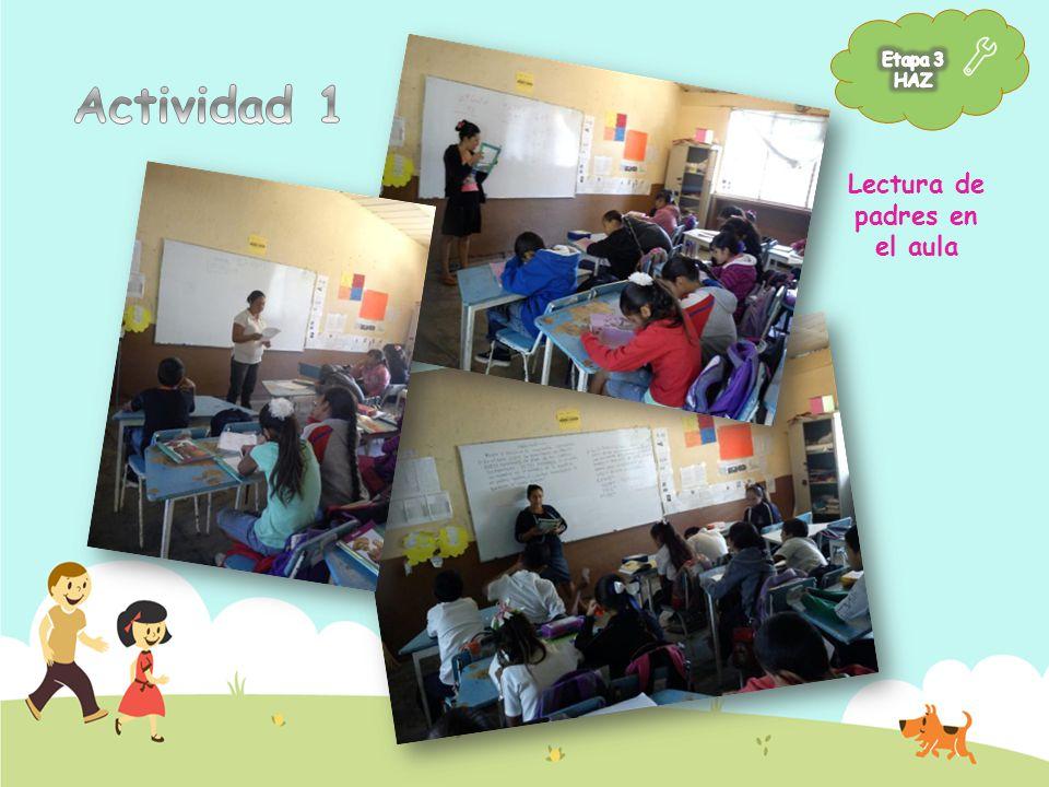 Lectura de padres en el aula