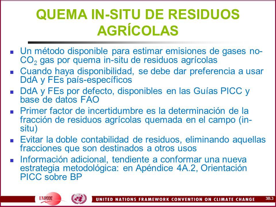 QUEMA IN-SITU DE RESIDUOS AGRÍCOLAS
