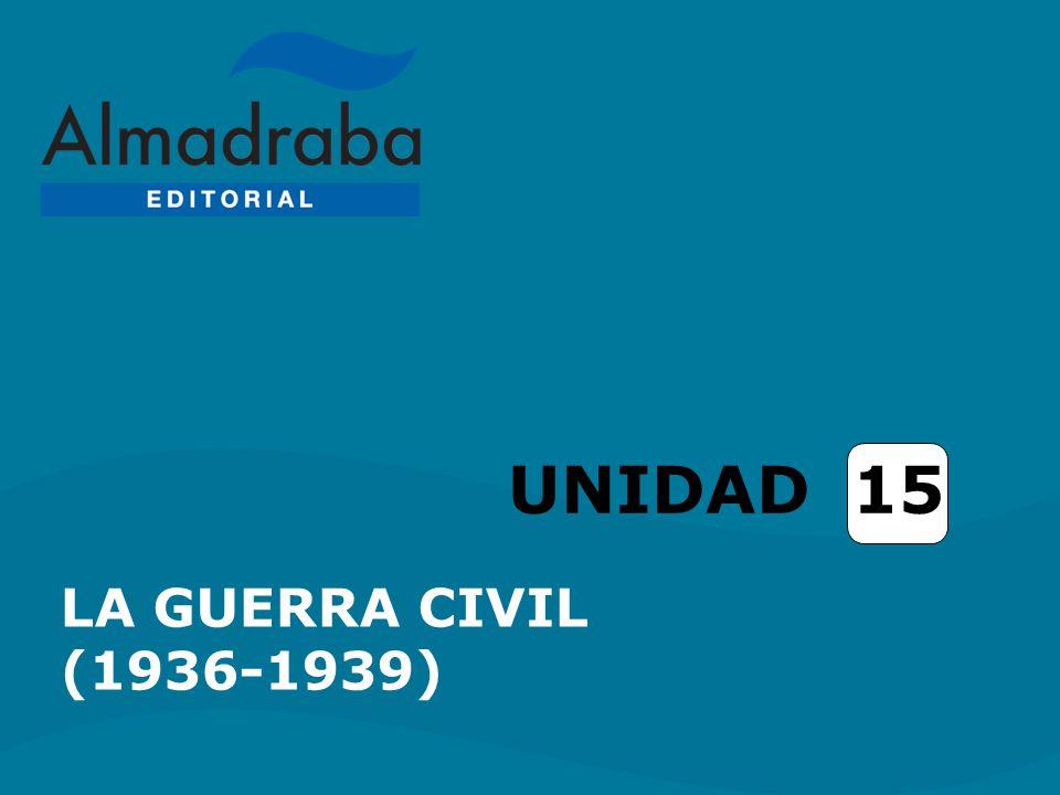 UNIDAD 15 LA GUERRA CIVIL (1936-1939)