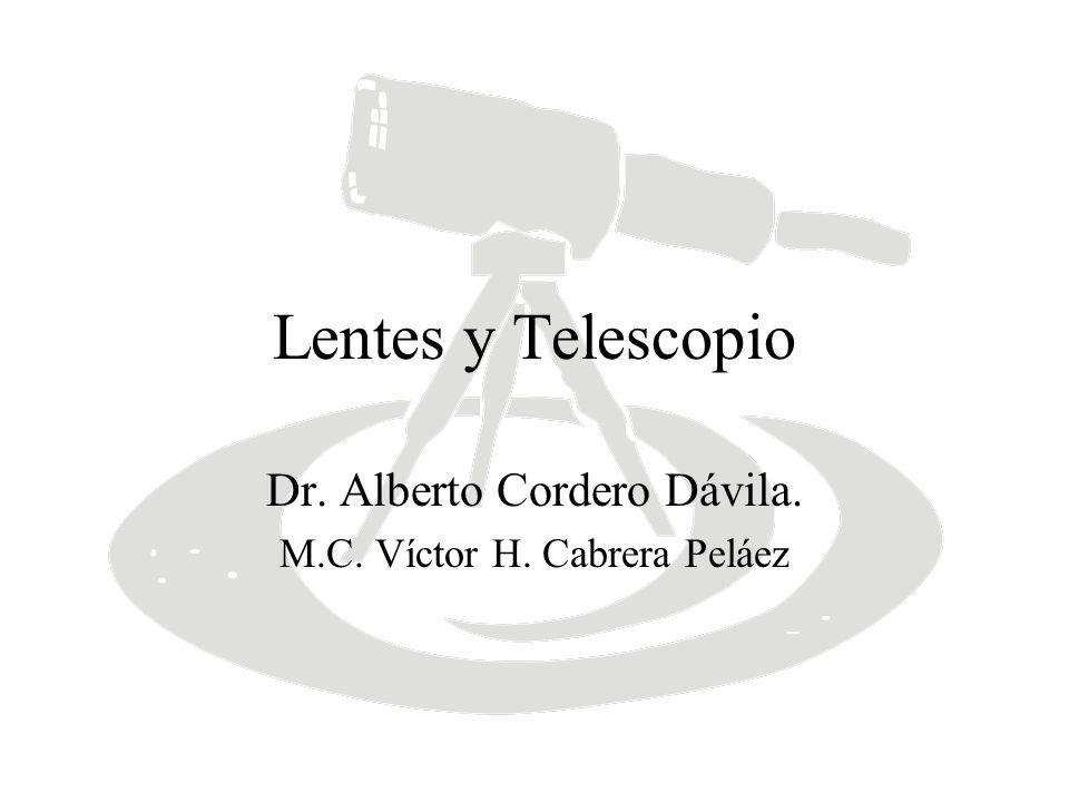 Dr. Alberto Cordero Dávila. M.C. Víctor H. Cabrera Peláez
