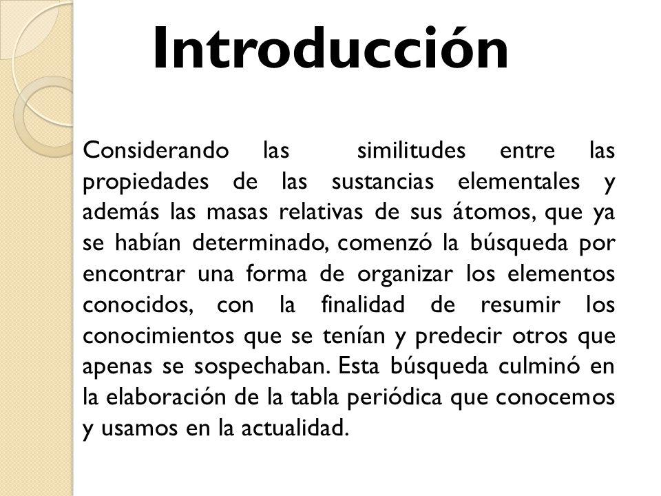 Tabla peridica y enlaces qumicos ing santiago figueroa lorenzo 4 introduccin considerando urtaz Image collections