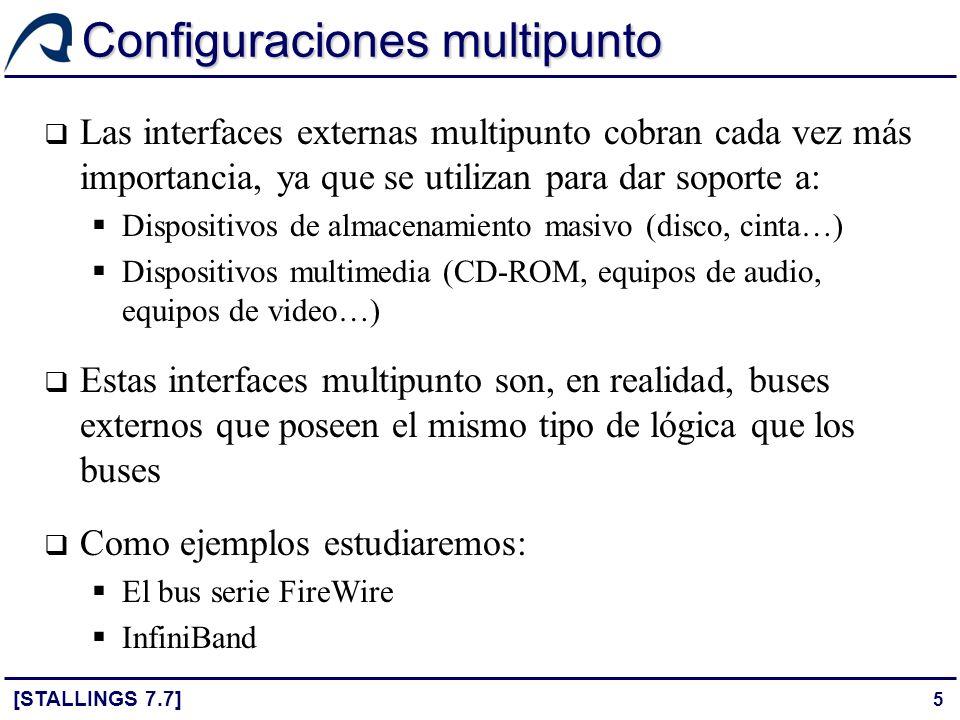 Configuraciones multipunto