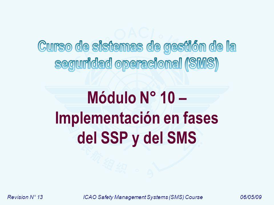 Módulo N° 10 – Implementación en fases del SSP y del SMS