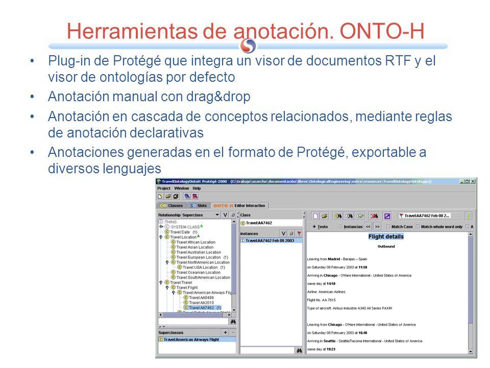 Herramientas de anotación. ONTO-H