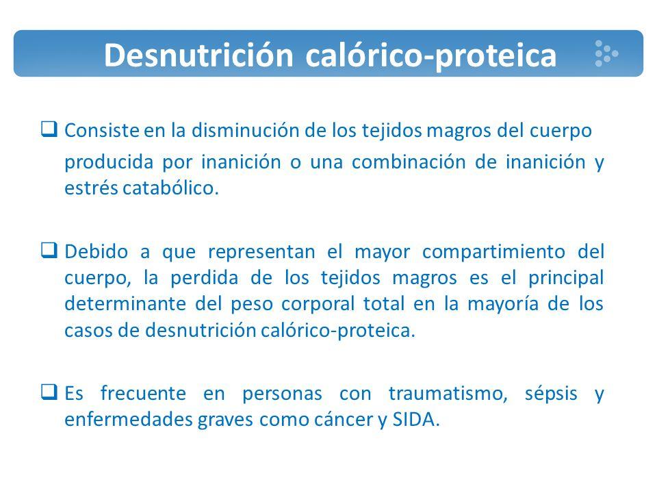 Desnutrición calórico-proteica