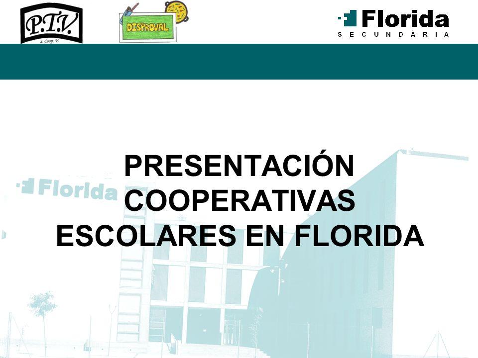PRESENTACIÓN COOPERATIVAS ESCOLARES EN FLORIDA