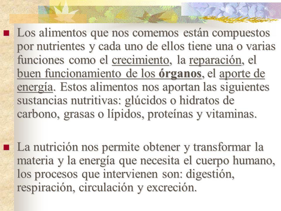 Alimentaci n y nutrici n componentes del grupo ppt descargar - Alimentos para la circulacion ...