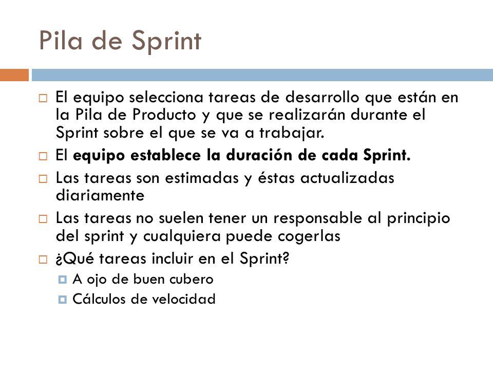 Pila de Sprint