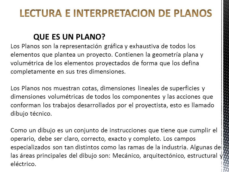Lectura e interpretacion de planos ppt video online for Representacion grafica de planos arquitectonicos