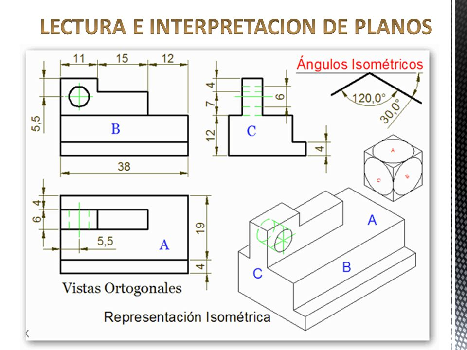 lectura e interpretacion de planos ppt video online