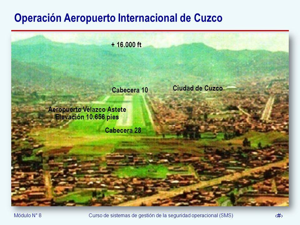 Operación Aeropuerto Internacional de Cuzco