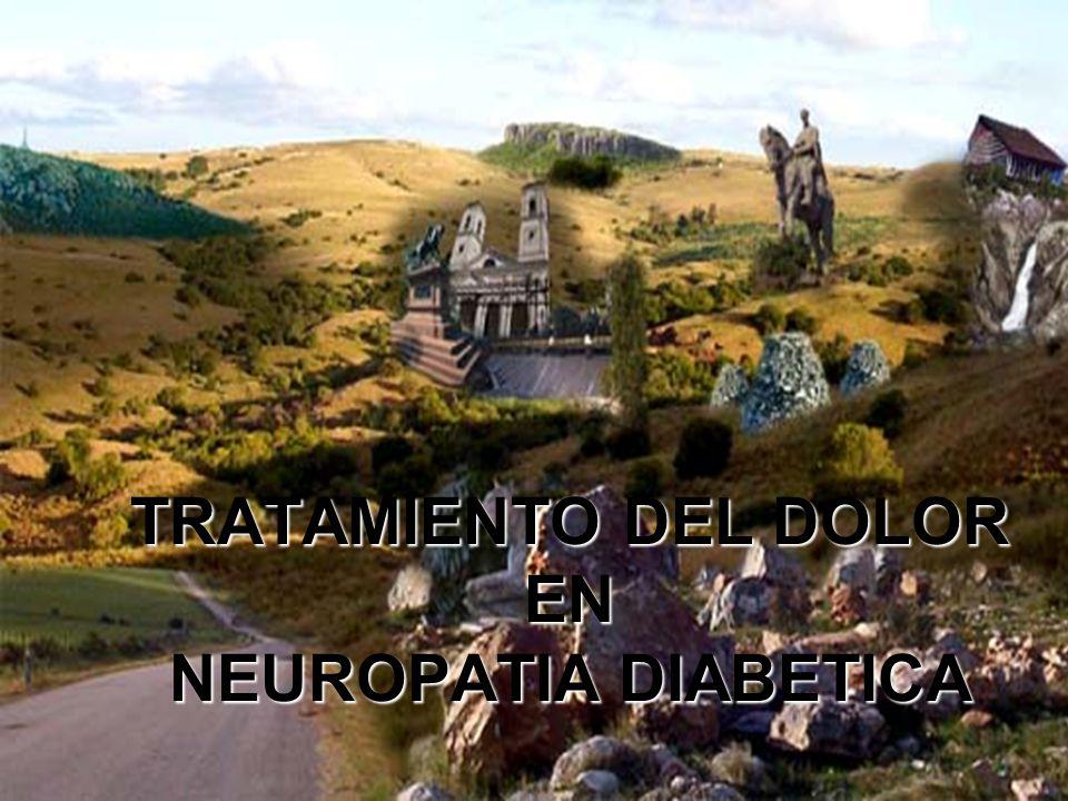 TRATAMIENTO DEL DOLOR EN NEUROPATIA DIABETICA - ppt descargar
