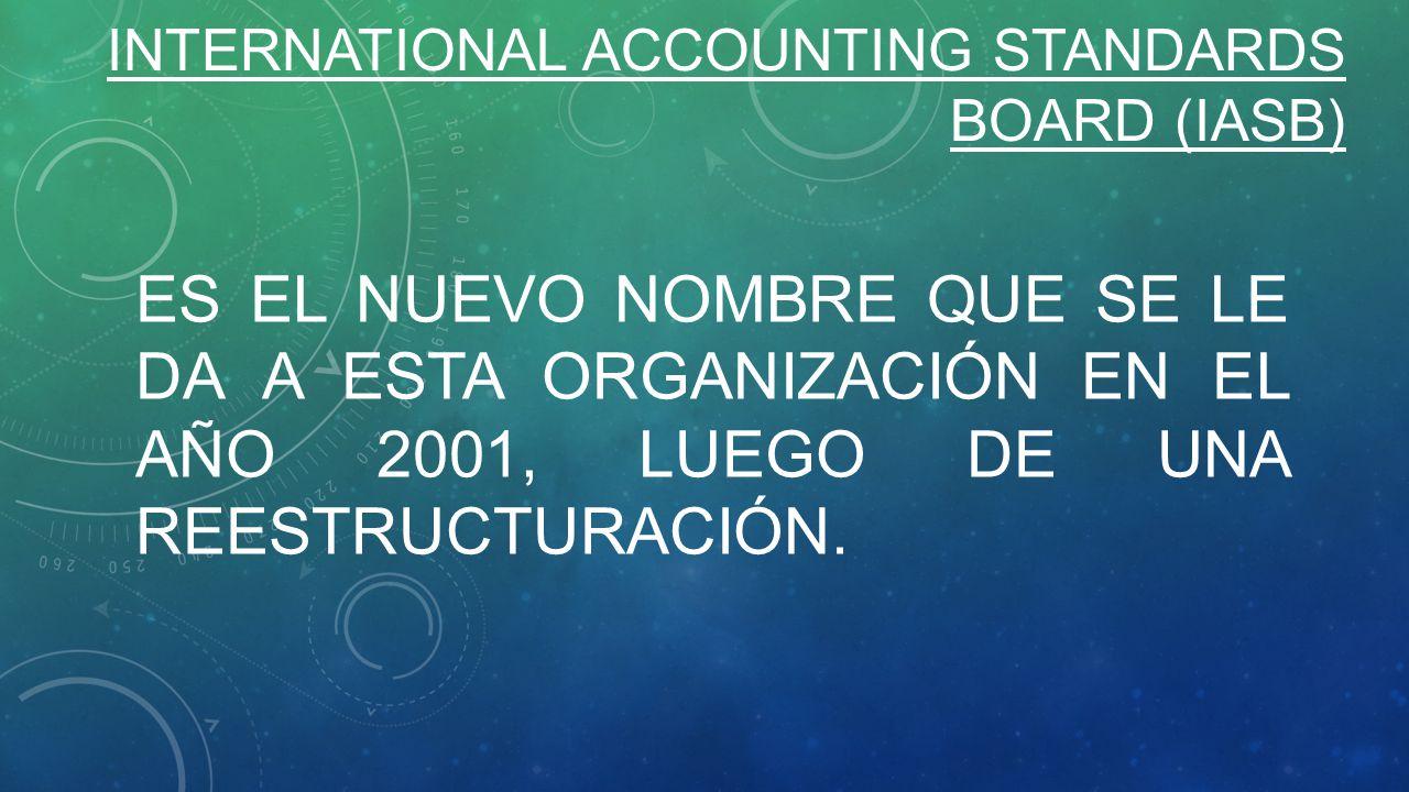 international accounting standards board iasb and Ifrs are issued by the international accounting standards board (iasb) and    .
