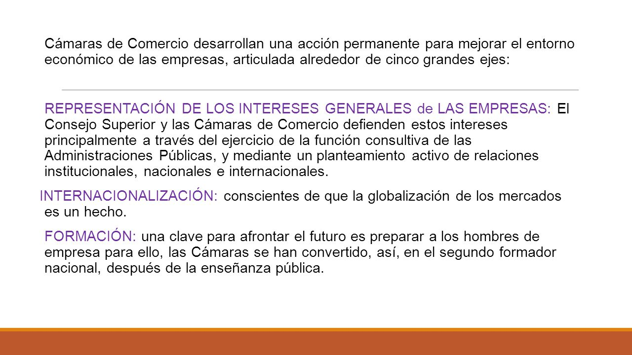 C mara de comercio internacional ppt video online descargar for Consejo superior de comercio exterior