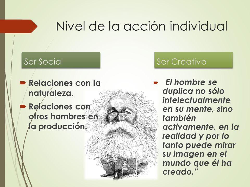 Nivel de la acción individual