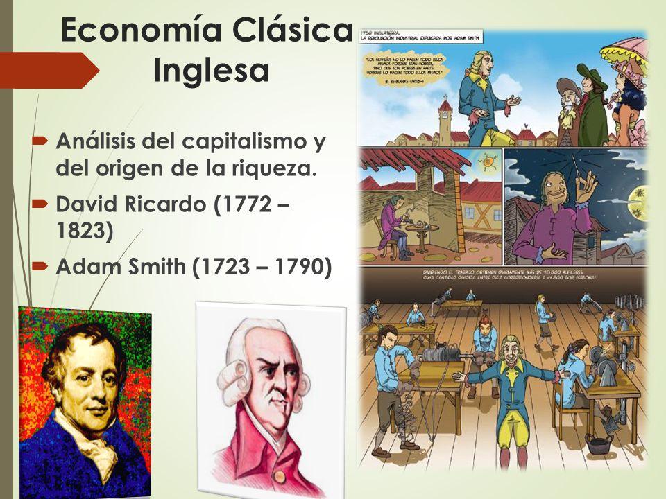 Economía Clásica Inglesa