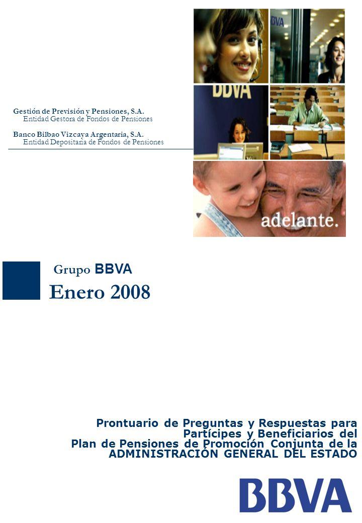 Enero 2008 Grupo BBVA Prontuario de Preguntas y Respuestas para