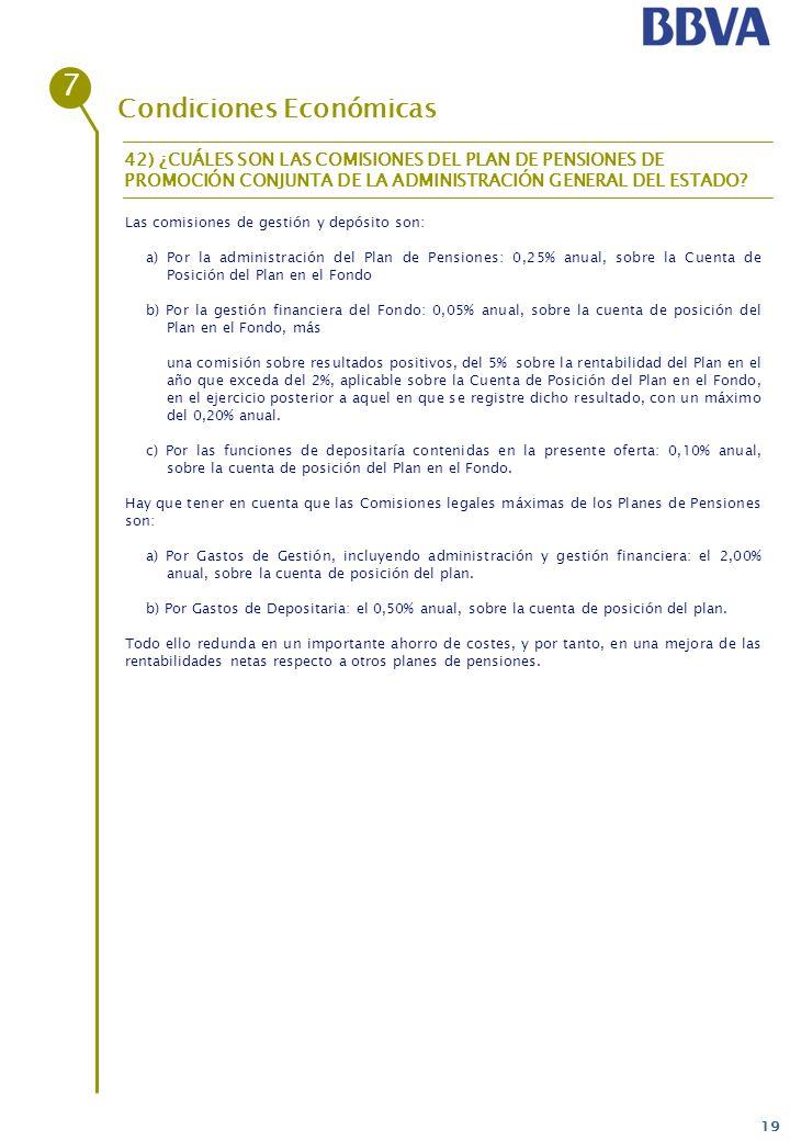 7 Condiciones Económicas
