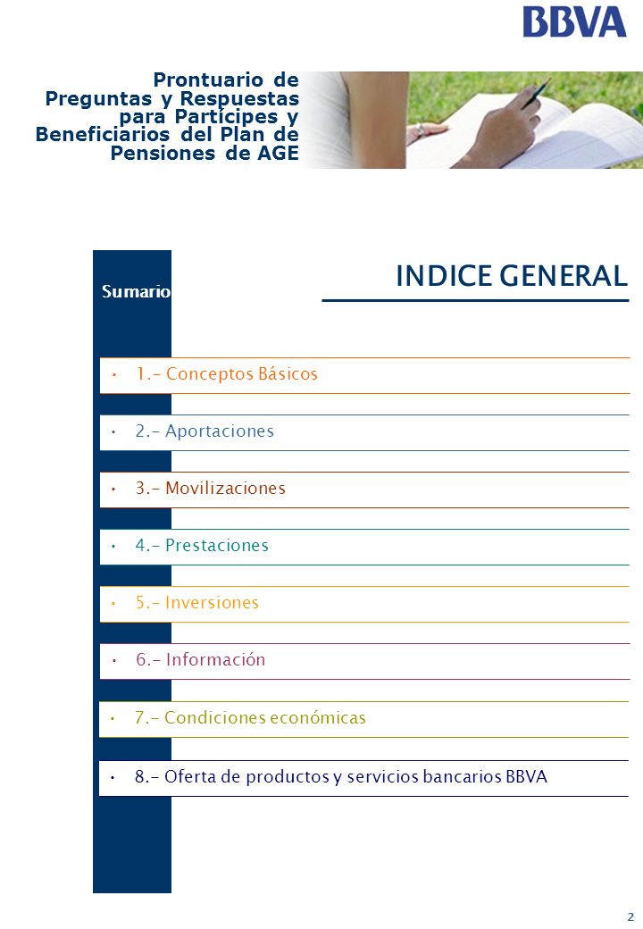 INDICE GENERAL Prontuario de