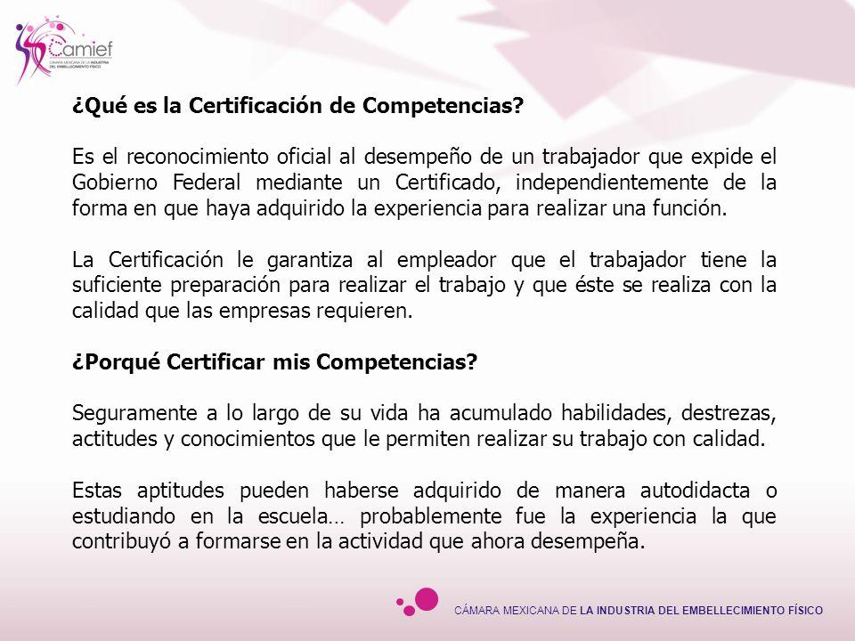 ¿Qué es la Certificación de Competencias