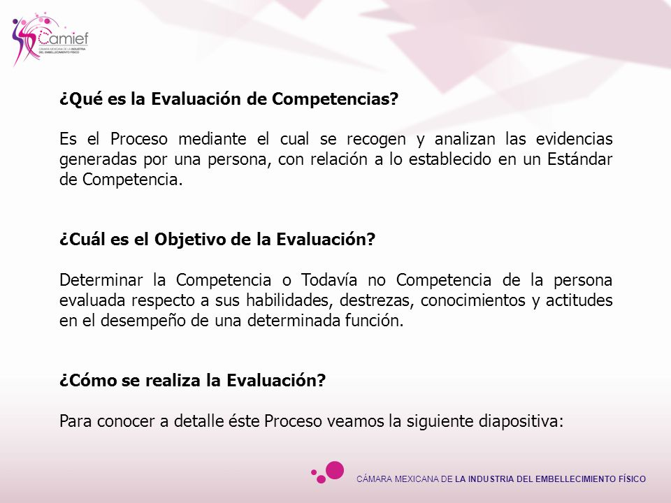 ¿Qué es la Evaluación de Competencias
