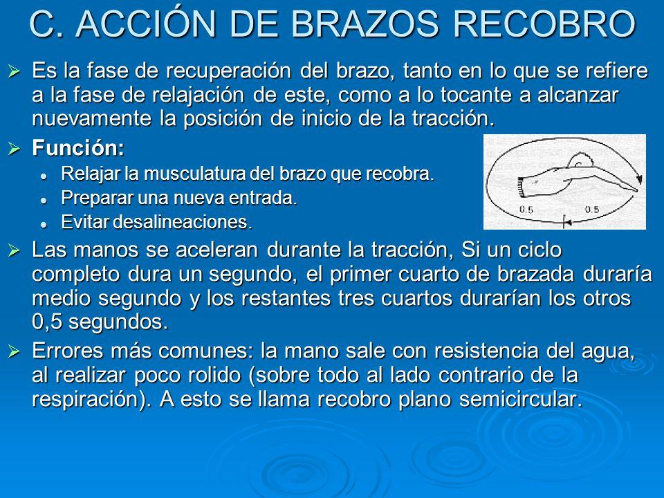 C. ACCIÓN DE BRAZOS RECOBRO
